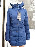 Демисезонная женская куртка в больших размерах