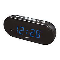 Электронные цифровые настольные часы синие VST-715-5/BLUE