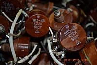 Резистор подстроечный ПП3-43  220 Ом