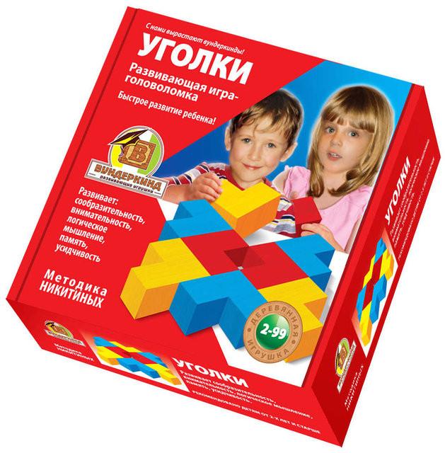 Кубики Никитина Уголки Вундеркинд (К-004)