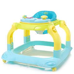 Купить ходунки 4 Baby Walkie Blue (синий)