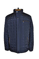 Куртка мужская демисезонная с коричневым кантом