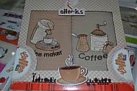Набор кухонных полотенец Nilteks хлопок 4шт. 30х50см. Турция Nil-010