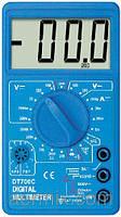 Мультиметр универсальный DT-700C (со звуком+температура), цифровой мультиметр, измерительный прибор мультиметр