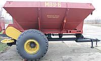 Разбрасыватель минеральных удобрений, внесения удобрений МВУ-6