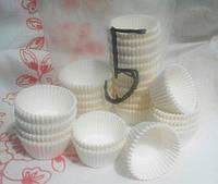 Бумажная форма для выпечки 5.5 Красный