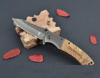 Нож титановый - Браунинг. Раскладной нож, нож полуавтоматический, фото 1