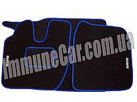 Автомобильные велюровые ковры IVECO EUROSTAR синие