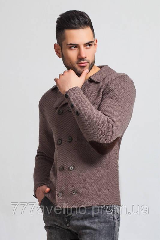 пиджак мужской вязаный стильный кардиган купить в харькове