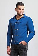 Пиджак мужской вязаный стильный кардиган осень
