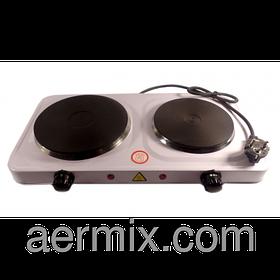 Электрическая плита Hot plate HP II, плита 2-конфорочная электрическая, портативная настольная электроплита