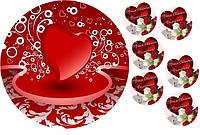 Любовь это... 135 Вафельная картинка