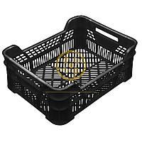 Ящики для овощей из вторичного сырья 400x300x155/110