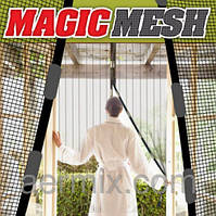 Москитная сетка на магнитах Magic Mesh (Меджик Меш) 18 магнитов