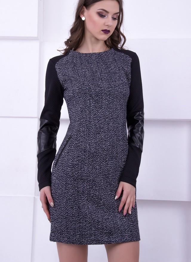 ec32e65a0a2 Платье из твида Diana 50 размер  продажа