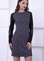 Платье из твида Diana, р 40-50, фото 1