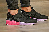 "Кроссовки Huarache ""Black/Puple/Pink"""
