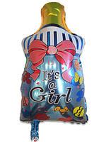 Фольгированный воздушный шарик Бутылочка с соской
