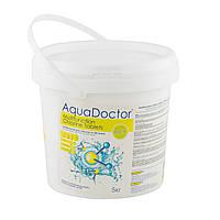 Средство для дезинфекции воды бассейна хлор мультитаб AquaDOCTOR, 5 кг (в таблетках по 200 гр)