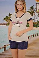 Пижама летняя с футболкой