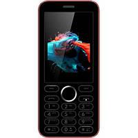 "Мобильный телефон Viaan V241 Black/Red 2,4"""