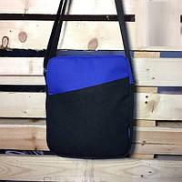 Месенджер\мессенджер (сумка на плече) - Milk Clothing - Classic Black/Royal