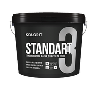 Латексная краска Kolorit Interior Standart 2,7л