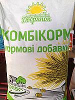 ДОБРЯНОК МирАгро,корм для цыплят-рост с  61 до 120  дня,   25 кг