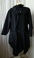 Пальто стильное модное шерсть р.52-54 7387