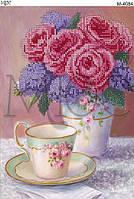 """Схема для вышивки бисером """"Чайные розы"""""""