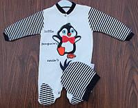 """Нарядный человечек """"Пингвинчик""""+шапочка  56-59-62 см"""