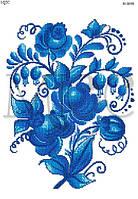 """Схема для вышивки бисером """"Цветы этно"""""""