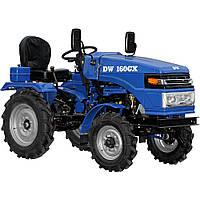 Трактор DW 160GX  (16 л.с., колеса 5,00-12/6,5-16, с гидравликой, ременной привод)