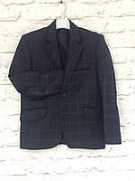 Пиджак в клетку для мальчика на рост 98-116см
