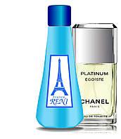Reni версия Egoist Platinum Chanel 100мл + флакон в подарок