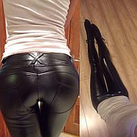 Женские штаны кожанные а540