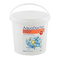 Средство для дезинфекции воды бассейна хлор шок AquaDOCTOR (быстрый), 1 кг (гранулированный)