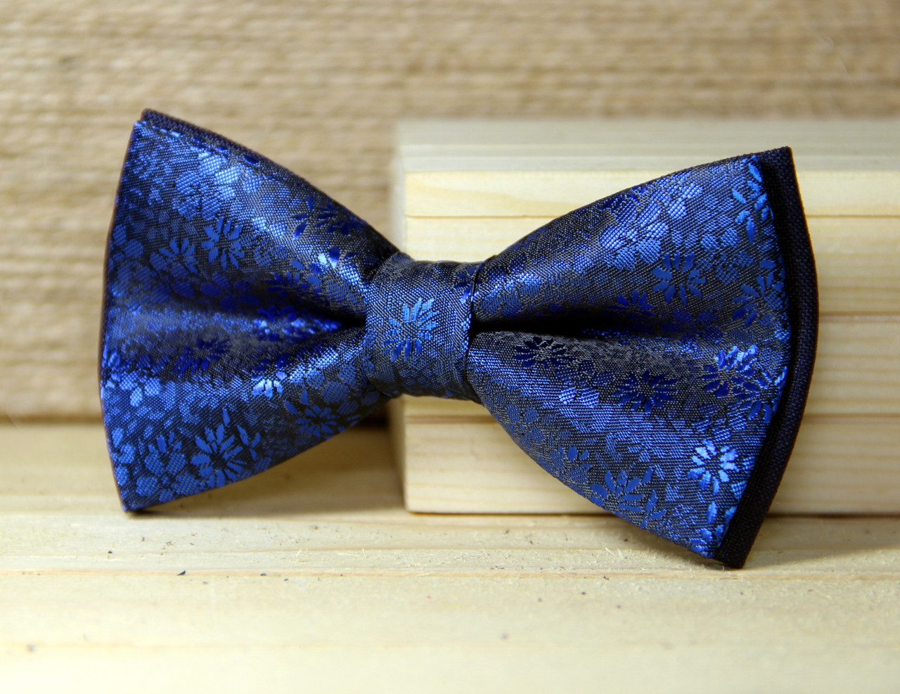 Галстук-бабочка I&M Craft синий (010243)