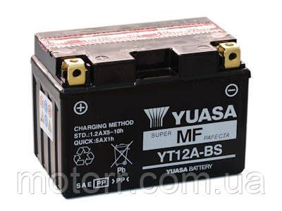 Аккумулятор YUASA YT12A-BS
