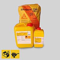 SIKAGARD-720 EPOCEM (A+B+C) шпаклевочно-выравнивающий раствор для бетона с повышенной химической стойкостью.