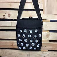 Месенджер\мессенджер (сумка на плече) - Milk Clothing - Classic Weed White