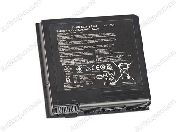 Батарея для ноутбука Asus A42-G55, фото 2