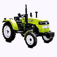 Трактор DW 240АТ (24 л.с., 3 цил. КПП (4+1)х2, пер./зад. груз, компрессор, эл. панель)