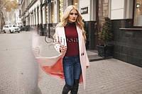 Женское пальто кашемир зима а618