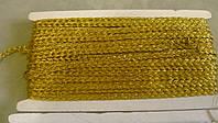 Кантик косичка золото  цена за метр