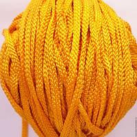 Кантик шнурок желтый
