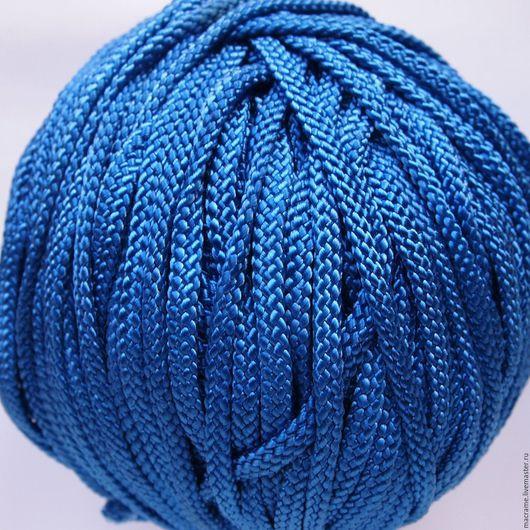 Кантик шнурок синий