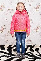 """Демисезонная куртка-жилетка для девочки """"Алиса"""""""