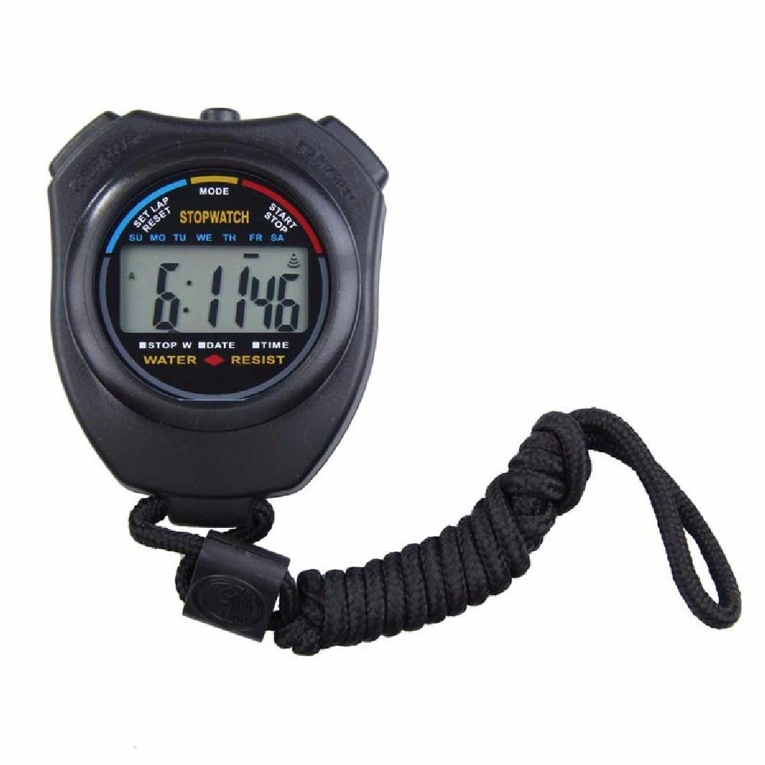 Спортивный секундомер с функцией часов и будильника