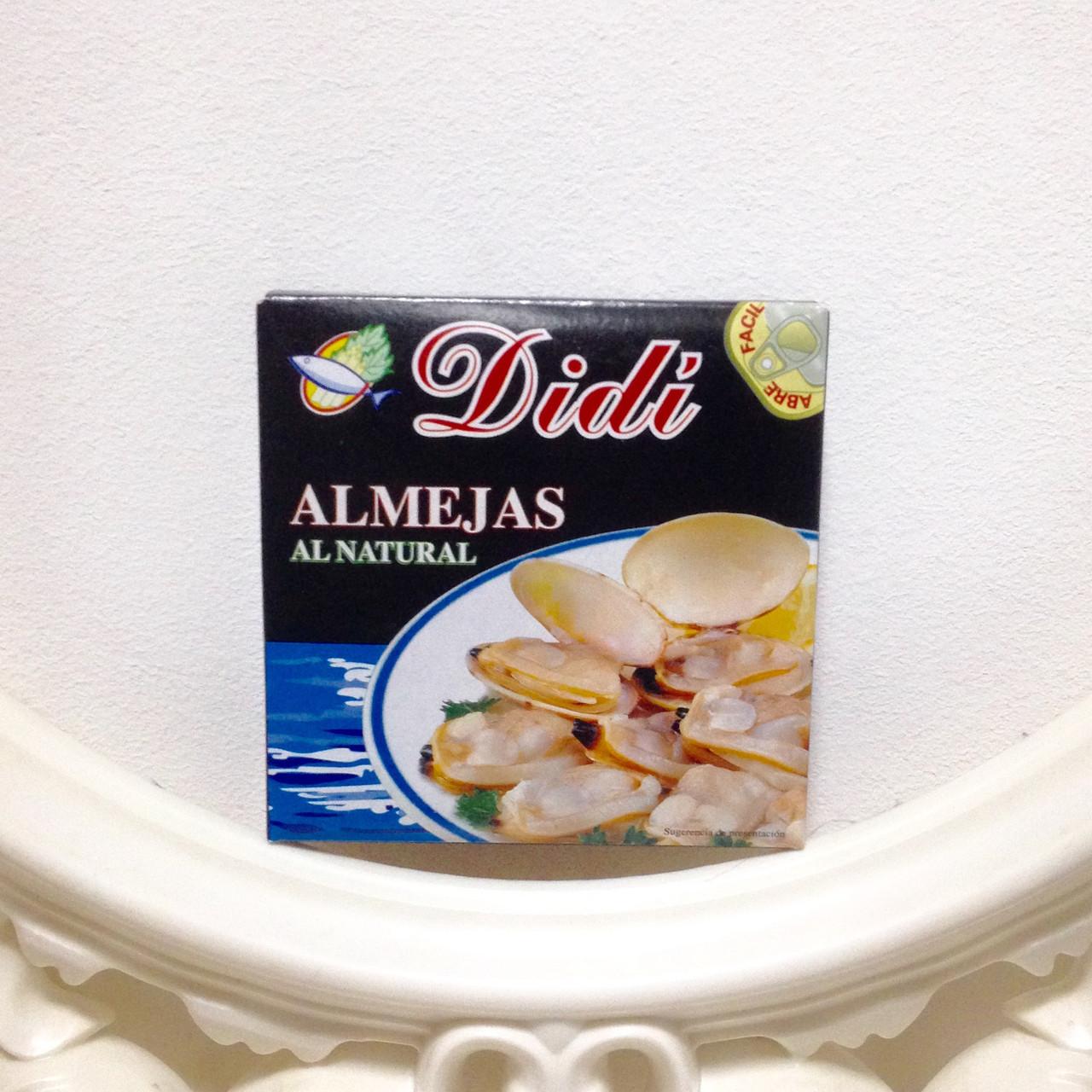 Моллюски ALMEJAS  AL NATURAL
